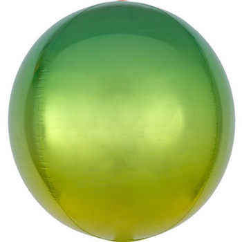 Yellow & Green Ombre Orb