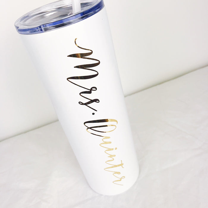 Personalized Skinny Steel 20 oz. Tumbler