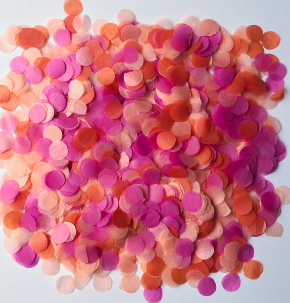 Orange Sherbet Dream Confetti