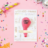 Party Time Balloon Card