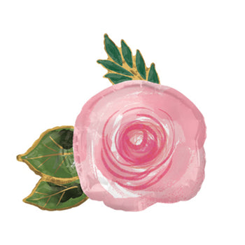 Pink Garden Rose Balloon