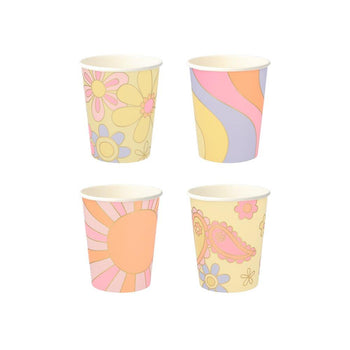 Psychedelic 60s Cups