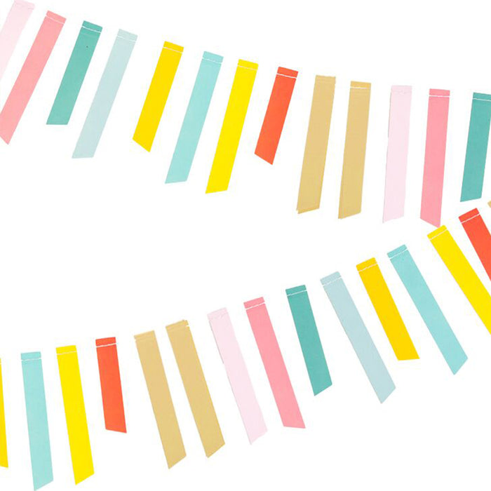 Multi-Stripe Garland