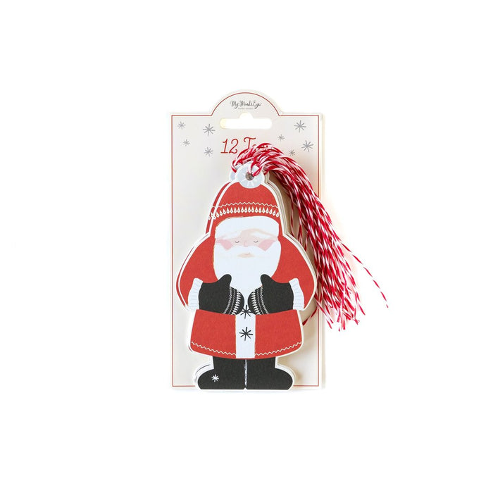 Santa Oversized Gift Tags