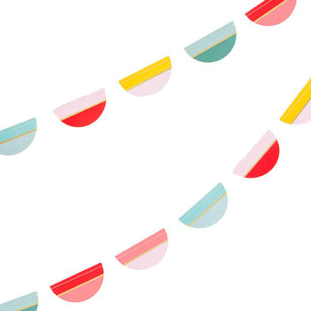 Multi-Color Scallop Garland