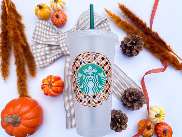 Pumpkin Queen Venti Starbucks Cup