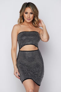 Miami Nights Dress in Black