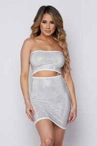 Miami Nights Dress in White