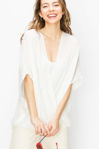 Nat Nat Wrap Top