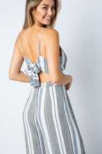 Addison Striped Jumpsuit