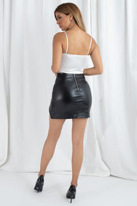 Blake Zipper Skirt
