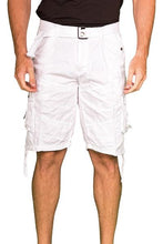 Charlie Cargo Shorts in White