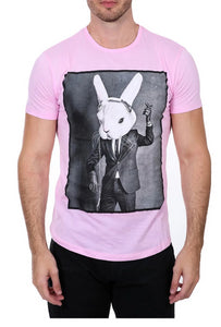 Pink Rabbit T-Shirt