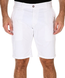 Preston White Shorts