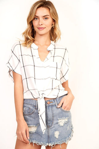 Raelyn Stripe Blouse
