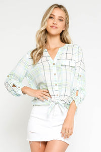 Margie Striped Blouse
