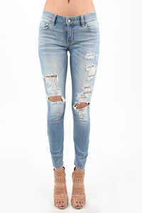 Mica Low Rise Skinny Ankle