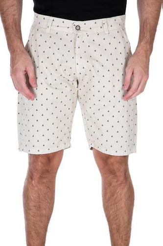 Nate Nautical Shorts in Khaki