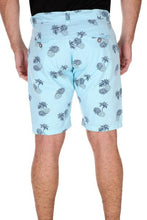 Aqua Pineapple Shorts