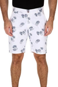 White Pineapple Shorts 183102