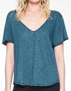 Wearever Tee in Deep Teal