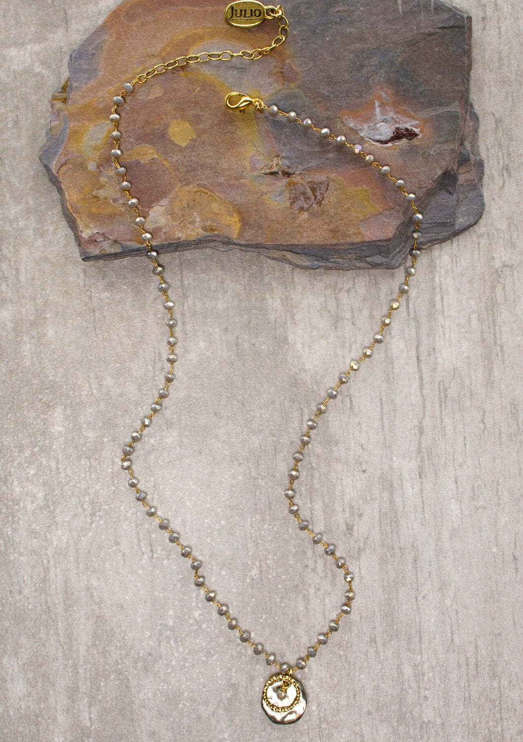 Alice Necklace in Grey