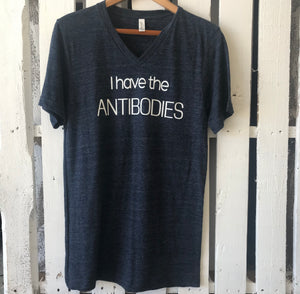 I Have The ANTIBODIES T-Shirt in Navy