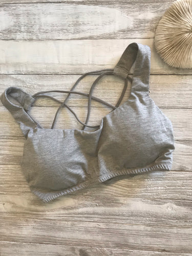 Casey Bralette in Grey