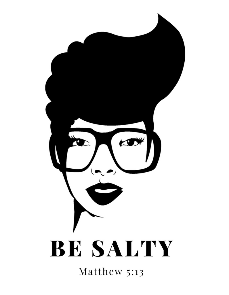 "Women's ""Be Salty"" Short Sleeve T-Shirt"