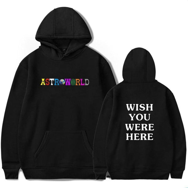 "Travis Scott ""ASTROWORLD - Wish You Were Here"" Hoodie"
