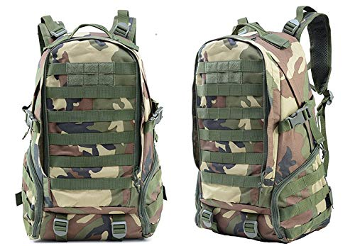 Tactical Military Backpack Camouflage Outdoor (Jungle) - Piketo