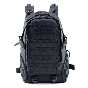 Tactical Military Backpack Camouflage Outdoor (black)