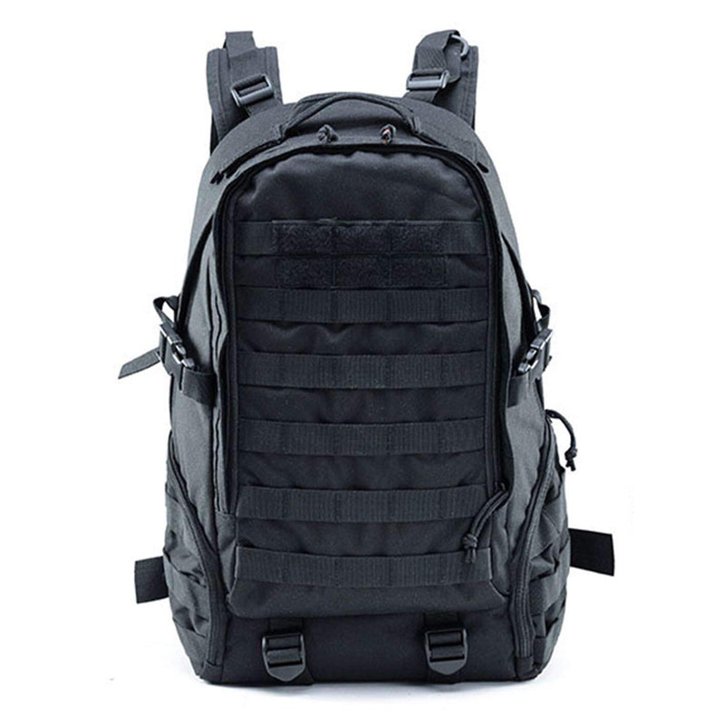 Tactical Military Backpack Camouflage Outdoor (black) - Piketo