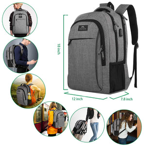 Business Travel Laptop Backpack 15.6 Inch Laptop Notebook - Piketo