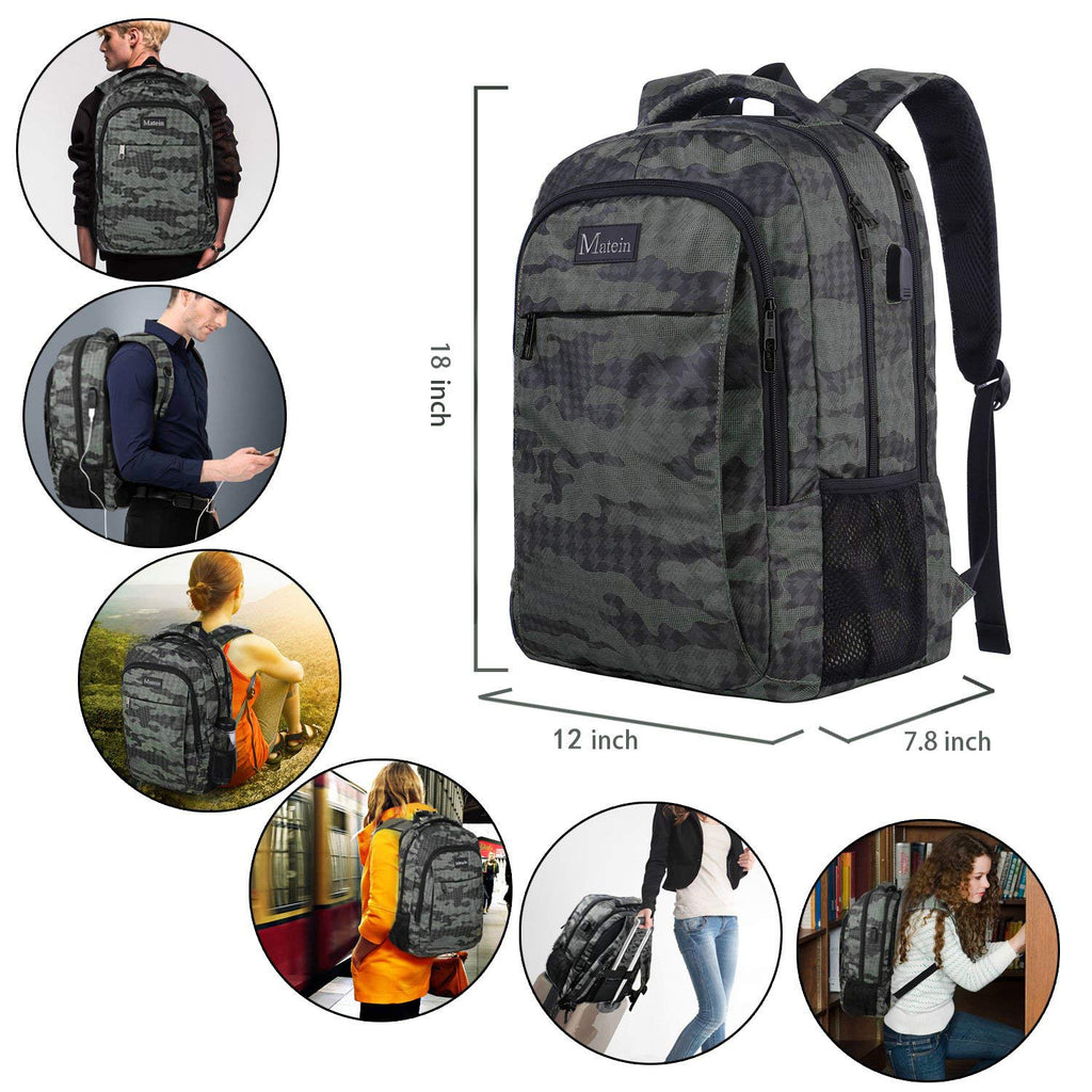 Business Travel Laptop Backpack 15.6 Inch Laptop Notebook