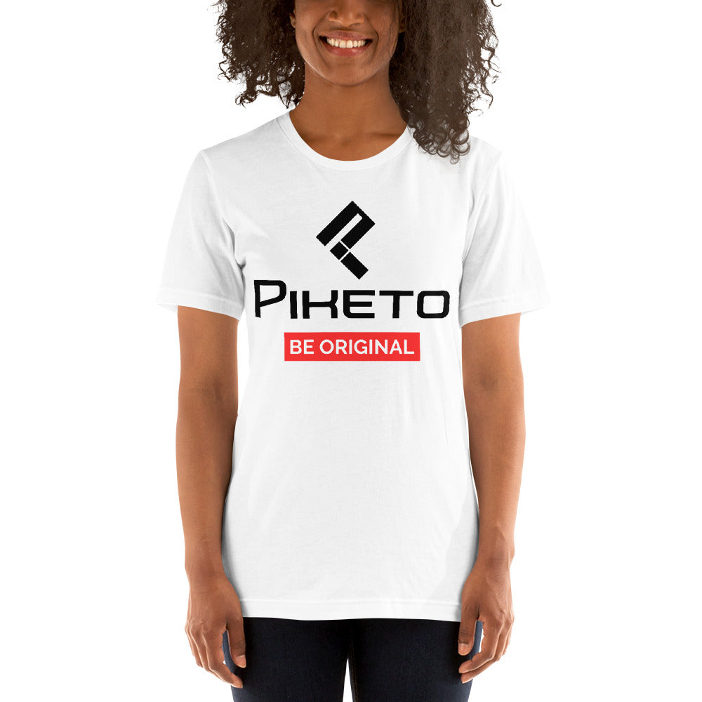 Piketo Be Original Tee Short-Sleeve Unisex T-Shirt - Piketo