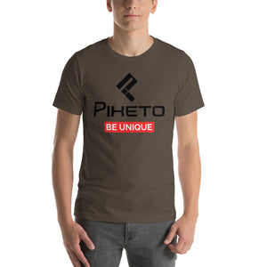 Piketo Be Unique Tee Short-Sleeve Unisex T-Shirt - Piketo