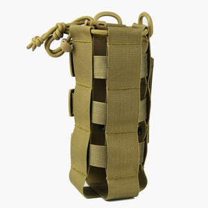 Tactical Water Bottle Pouch Military Molle System Kettle Bag - Piketo