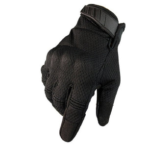 Men Riding Gloves Cycling Bike Full Finger Racing Screen Touch Outdoor Sports - Piketo