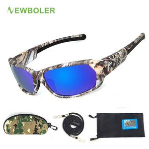 Fishing Eyewear Camouflage Polarized Sunglasses UV400