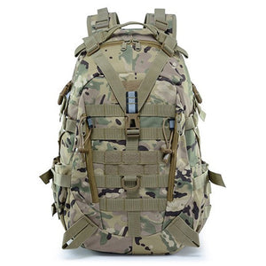 Large Camping Military Travel Tactical Backpack (CP)