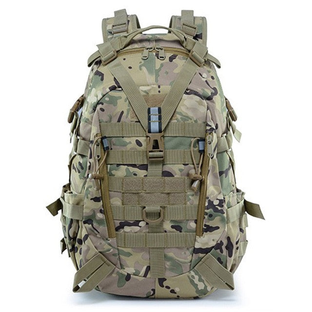 Large Camping Military Travel Tactical Backpack (CP) - Piketo