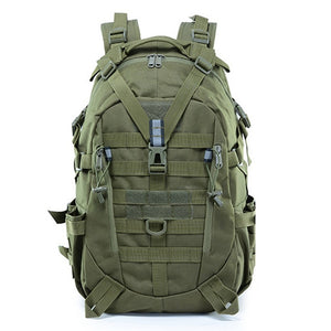 Large Camping Military Travel Tactical Backpack (Army Green)