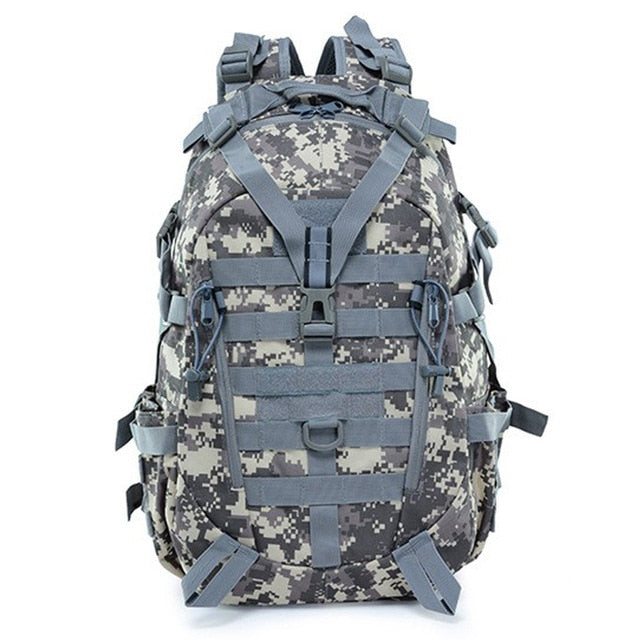 Large Camping Military Travel Tactical Backpack (ACU)