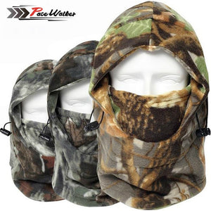 Cap Winter CamouflageThermal Hat Wind-proof Mask