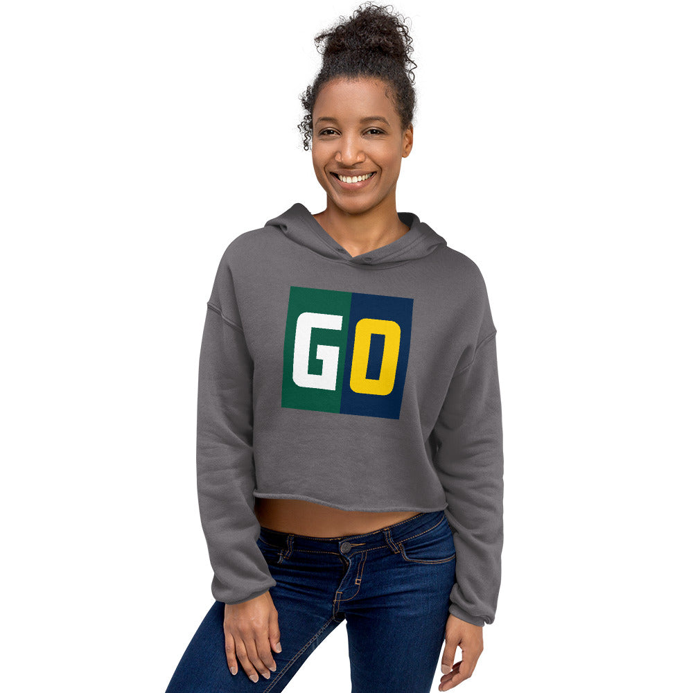 GO Cropped Hoodie