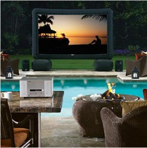 Outdoor Home Theater on a $1K Budget