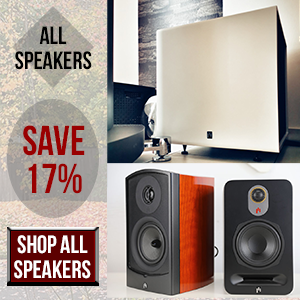 shop all speakers 17% off