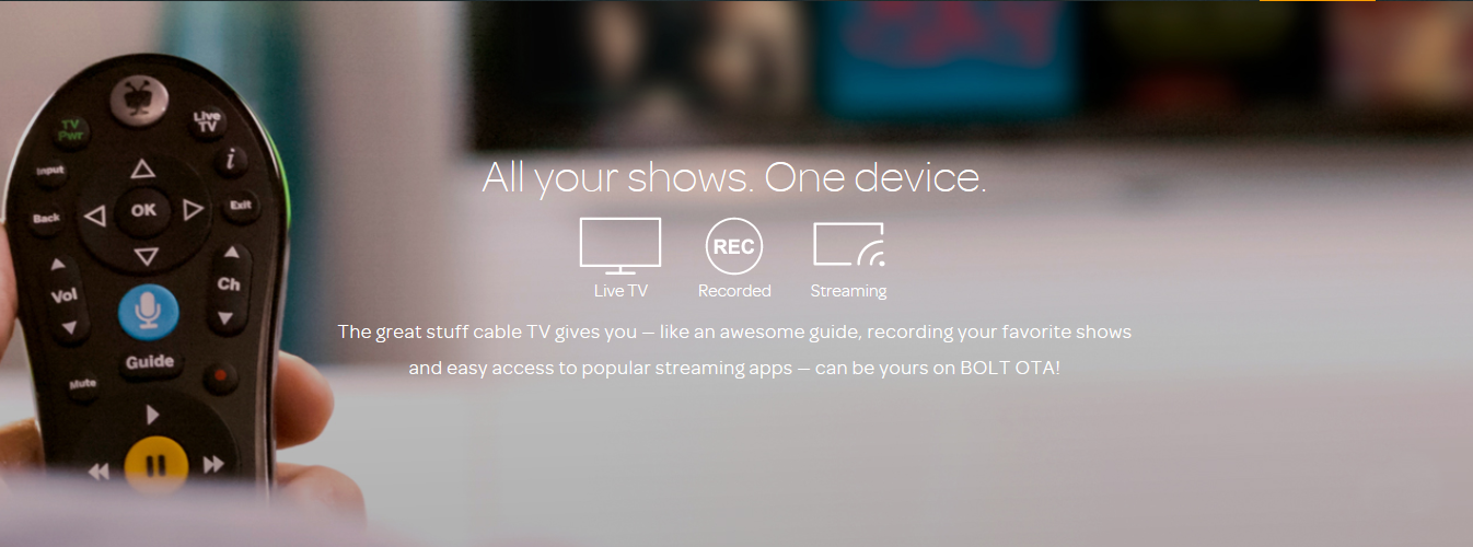 TiVo Bolt OTA for Antenna – All-in-One Live TV, DVR and