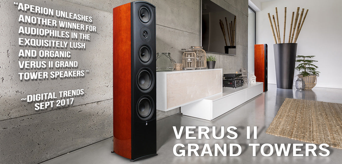 Aperion Audio Verus II Grand Speakers